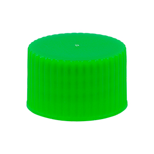 28/410 Green Screw Closure PP Heavy Col 7087