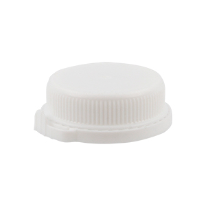 34mm White LDPE Boreseal TE Cap - for SPT250/500/1LC bottle