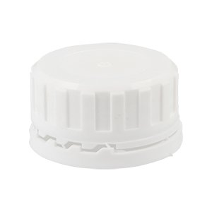 38mm White Tamper Evident Screw Closure Steran Wad