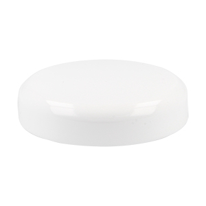 65mm White SAN Domed Lid