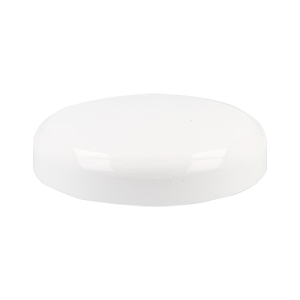 83mm White SAN Domed Lid