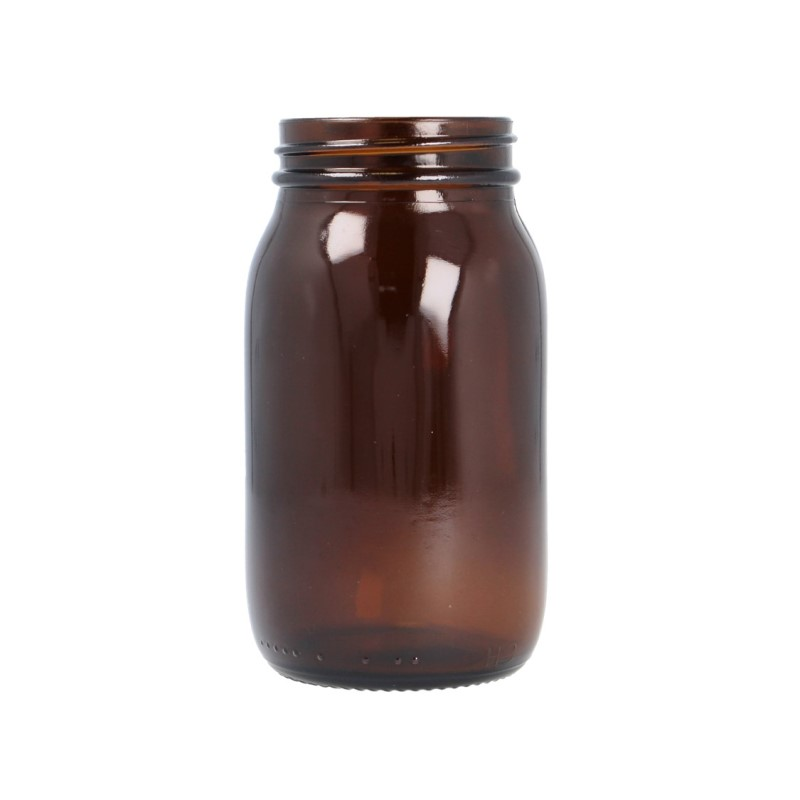 175ml Amber Powder Jar