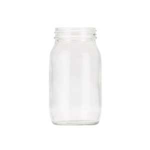 175ml Clear Powder Jar