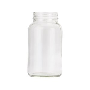 250ml Clear Lightweight Powder Jar
