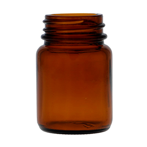 30ml Amber Powder Jar