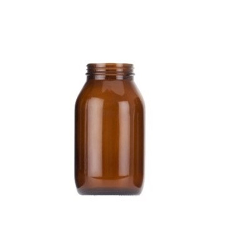 500ml Amber Powder Jar