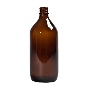 1 L Amber Winchester Bottle