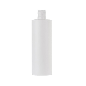 250ml White HDPE Standard Cylindrical Bottle