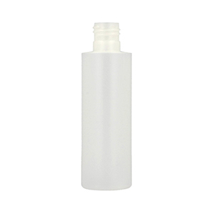 100ml Natural HDPE Standard Cylindrical Bottle