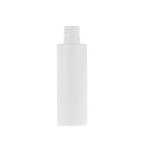 100ml White HDPE Standard Cylindrical Bottle