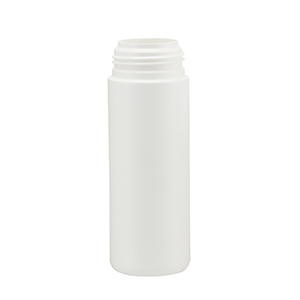 150ml White HDPE Foamer Pump Cylindrical Bottle (PCR10)