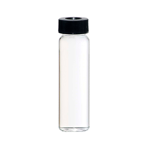 40ml Clear EPA Vial - c/w Hole Cap and Septa