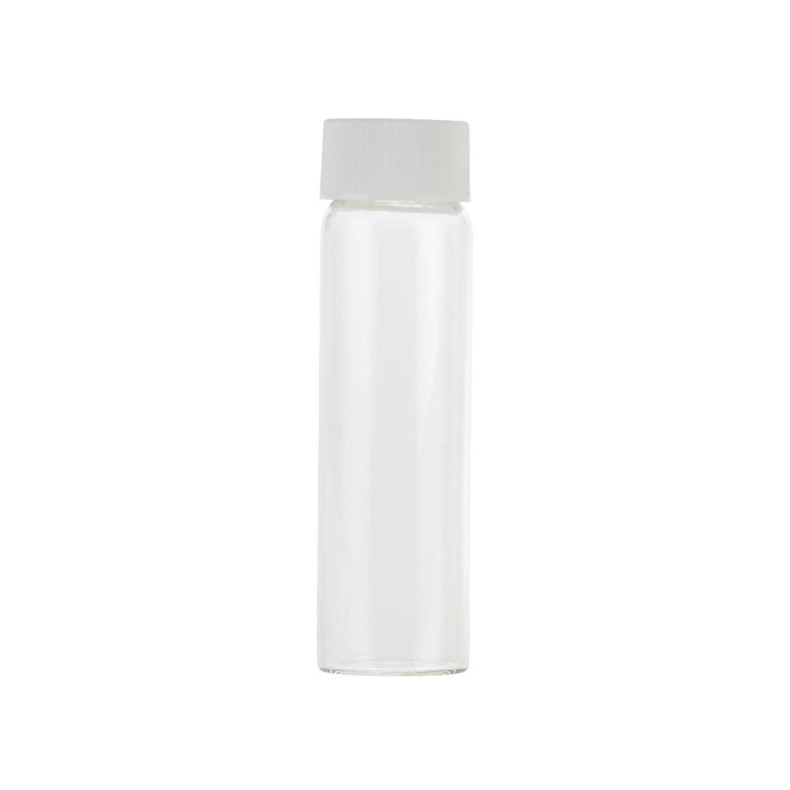 40ml Clear Glass Vial with Septa Seal and Hole Cap