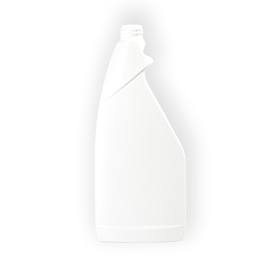 750ml White HDPE Oblong Triggerspray Flask