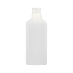 500ml Natural HDPE Heavy Square Bottle - takes 310EPEB