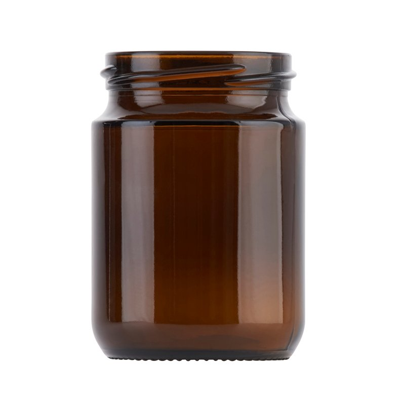 258ml Amber Tall Stockport Jar