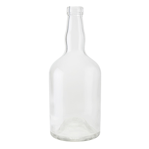 700ml Clear Martinique Bottle Corkmouth