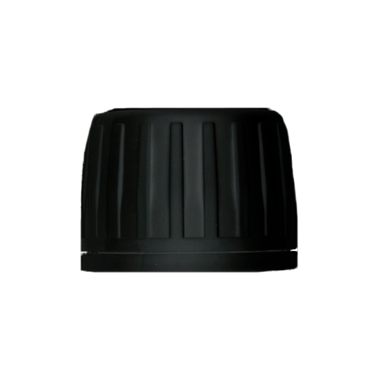 PP28 Black Tamper Evident Closure, EPE Foam Liner
