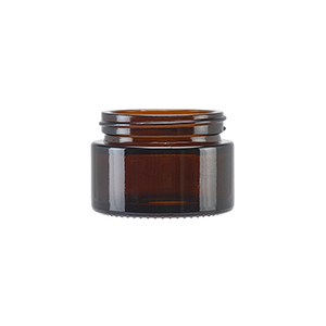 30ml Amber Round Glass Richmond Jar