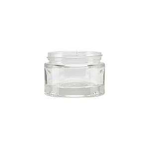 50ml Clear Round Glass Richmond Jar