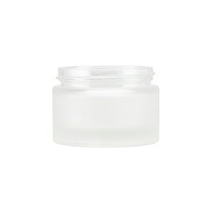 50ml Frosted Round Glass Richmond Jar, Frosted