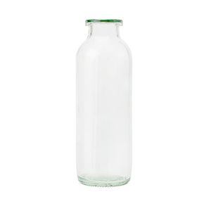 220ml Clear Salisbury Bottle - takes CTC25