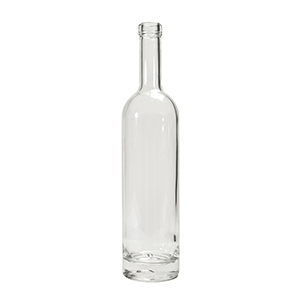 350ml Clear Ariane Bottle Clear Corkmouth