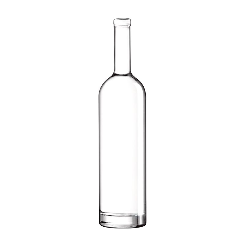 700ml Clear Ariane Bottle Clear Corkmouth