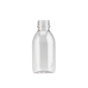 150ml Clear PET Sirop Bottle