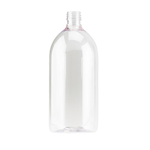 1 L Clear PET Sirop Bottle