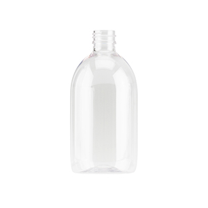 300ml Clear PET Sirop Bottle