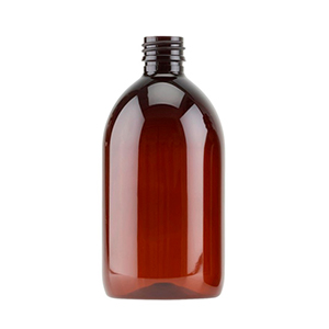 500ml Amber PET Sirop Bottle