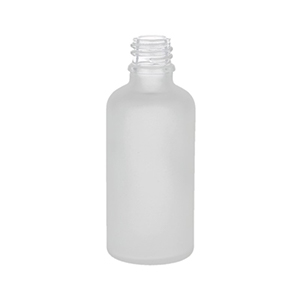 50ml Frosted Round Glass Skye Dropper Bottle
