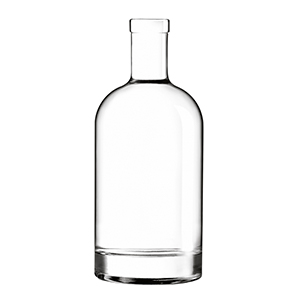 200ml Clear Oslo Bottle Corkmouth