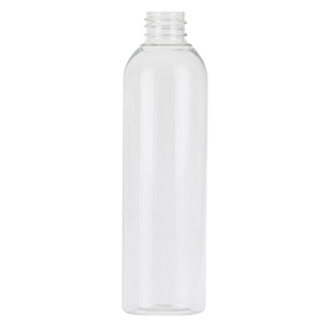 125ml Clear PET Tall Boston Round Bottle (S)