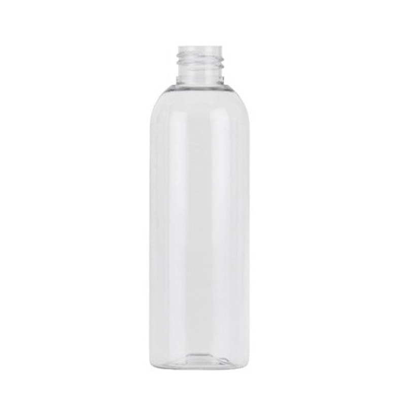 150ml Clear PET Tall Boston Round Bottle