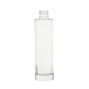 150ml Clear Glass Tarbert Cylindrical Round Bottle