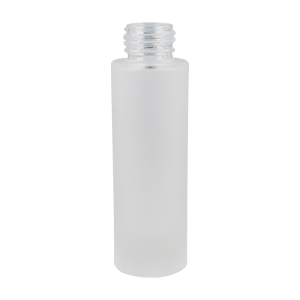 50ml Frosted Glass Tarbert Cylindrical Round Bottle