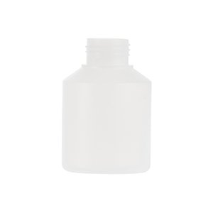 250ml Natural HDPE Wide Neck Swipe Bottle