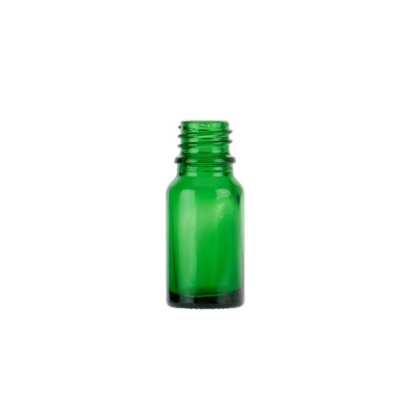10ml Green Glass Aura Dropper Bottle