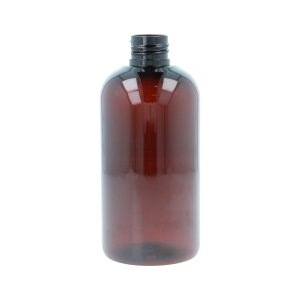 250ml Amber PET Boston Round Bottle