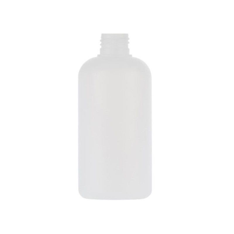 250ml Natural HDPE Boston Round Bottle