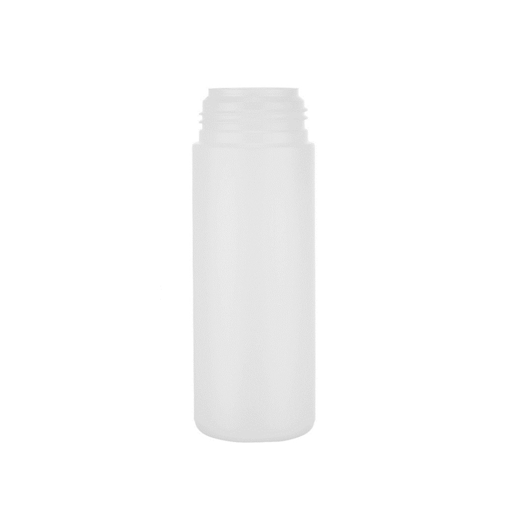 150ml Natural HDPE Foamer Pump Cylindrical Bottle