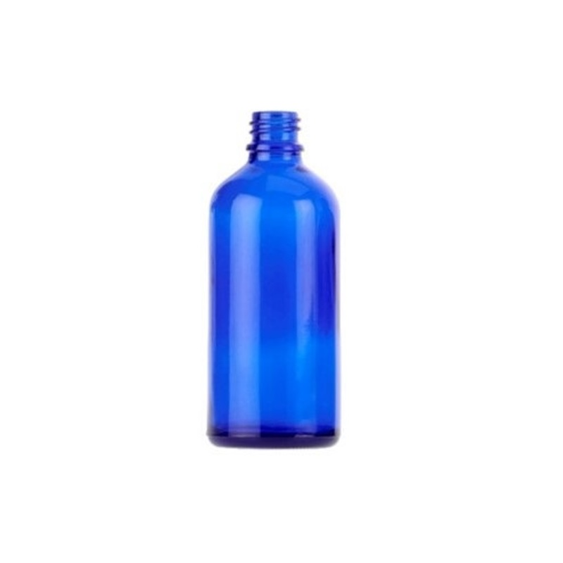 100ml Blue Tall Echo Dropper Bottle