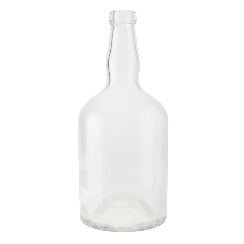 750ml Clear Martinique Bottle Corkmouth