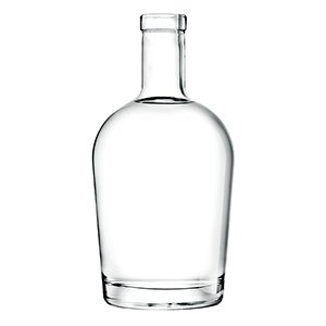 700ml Clear Islay Bottle Corkmouth