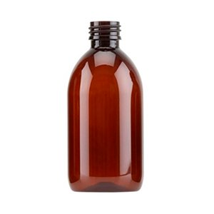 300ml Amber PET Sirop Bottle