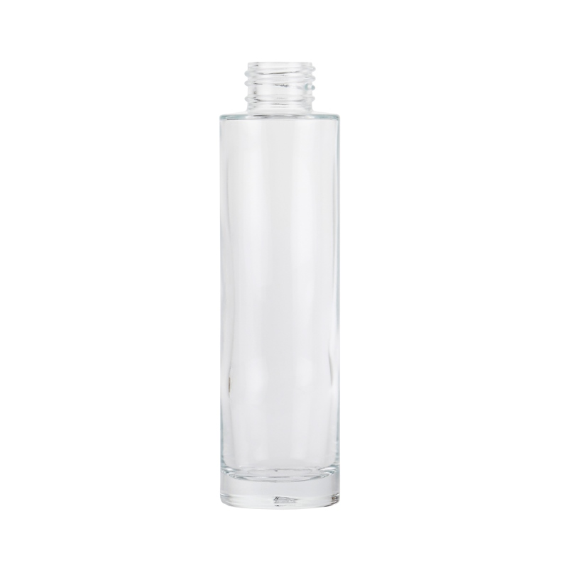 100ml Clear Glass Tarbert Cylindrical Round Bottle