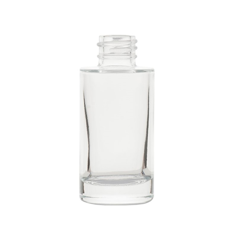 30ml Clear Glass Tarbert Cylindrical Round Bottle