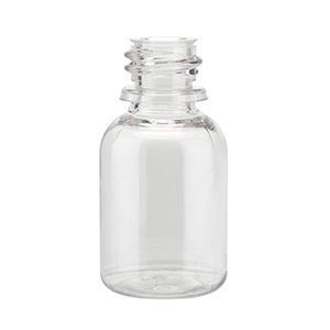20ml Clear PET Round Bottle